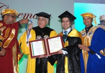 <h5>First Convocation Ceremony of O.P. Jindal Global University</h5>