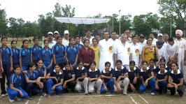 <h5> Naveen Jindal at a Kabaddi tournament</h5>