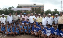 <h5>Naveen Jindal at a Kabaddi tournament</h5>