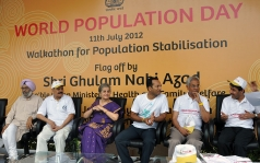 <h5>Dignitaries at World Population Day</h5>